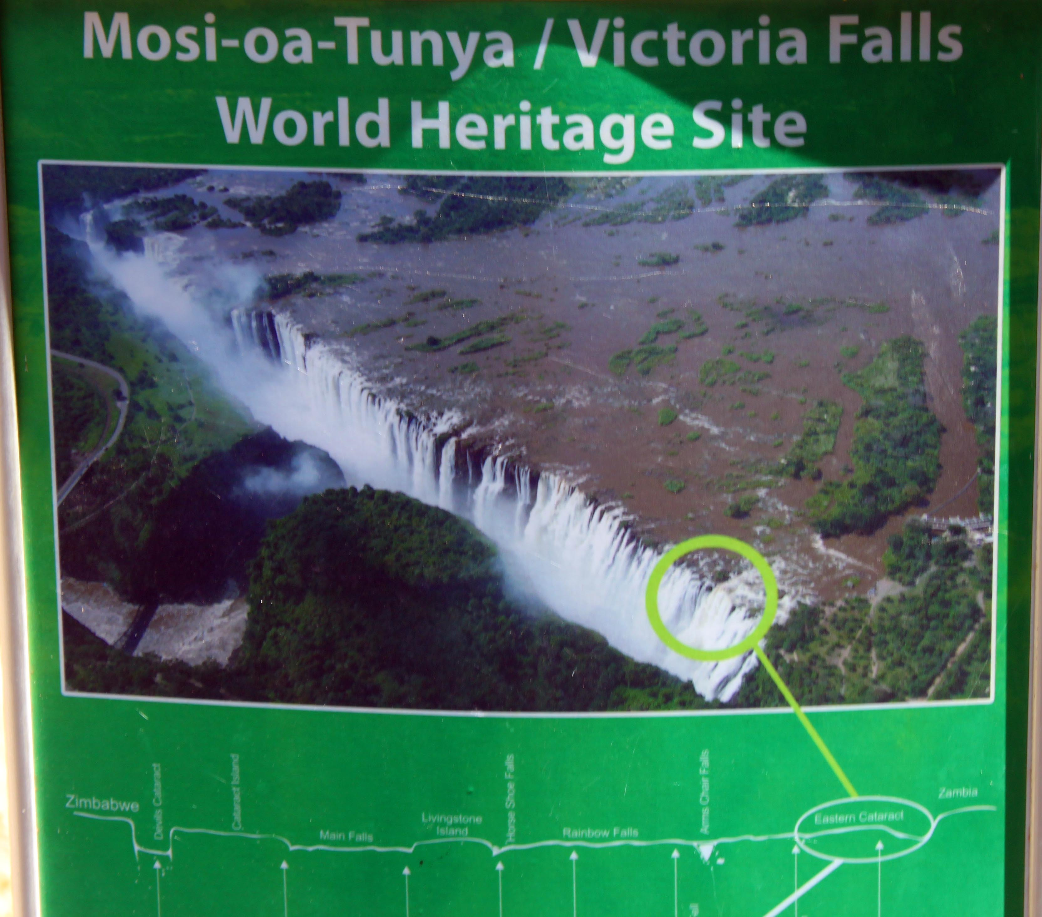 The Smoke That Thunders And The Devils Pool Victoria Falls A Word In Your Ear